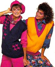 Late 80s Fashion